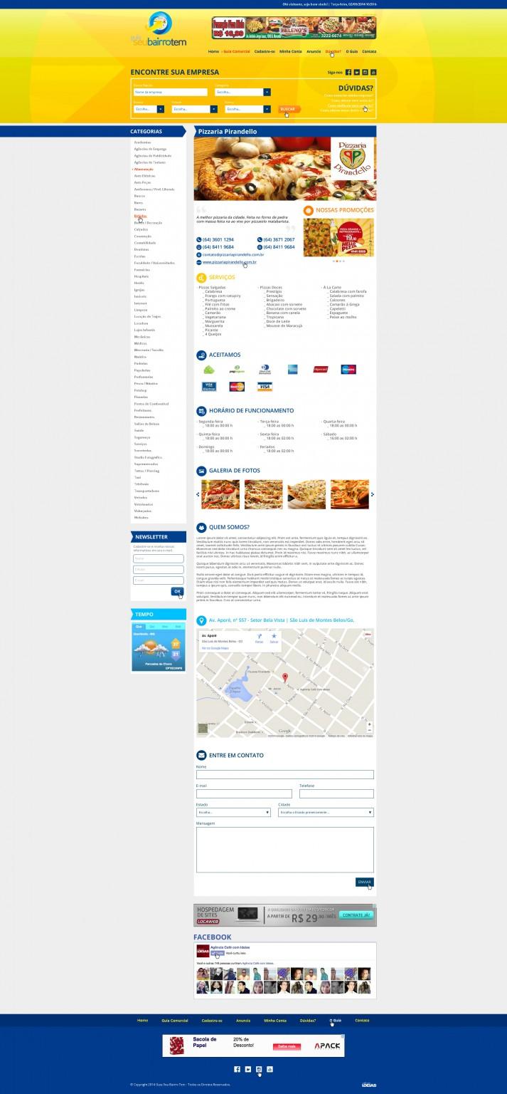 Advertiser Page - Premium