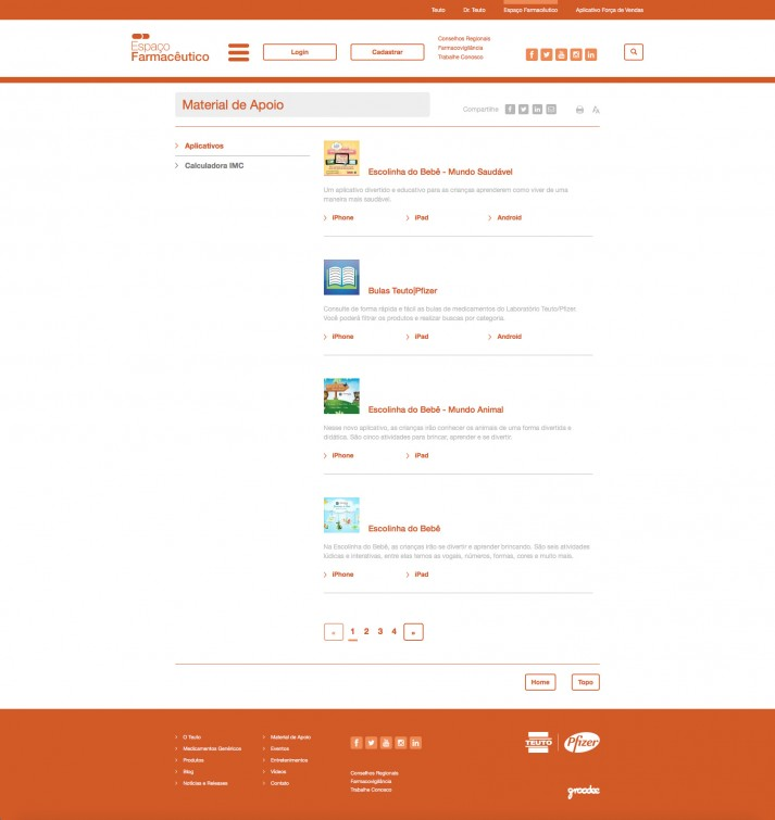 Support Material Page