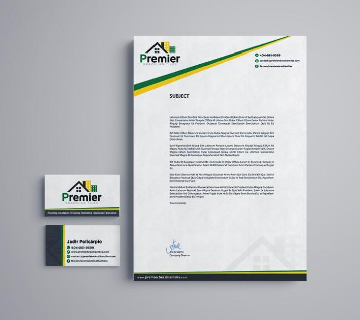 Business Card + Letterhead