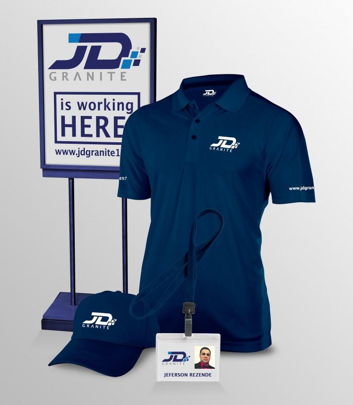 Yard Sign, Cap, Uniform and ID card