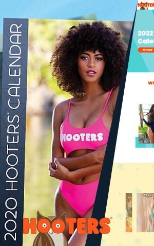 Hooters Calendar 2020